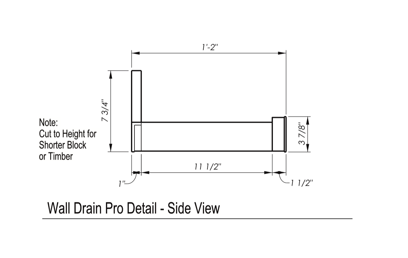 Wall Drain Pro Instructions 2