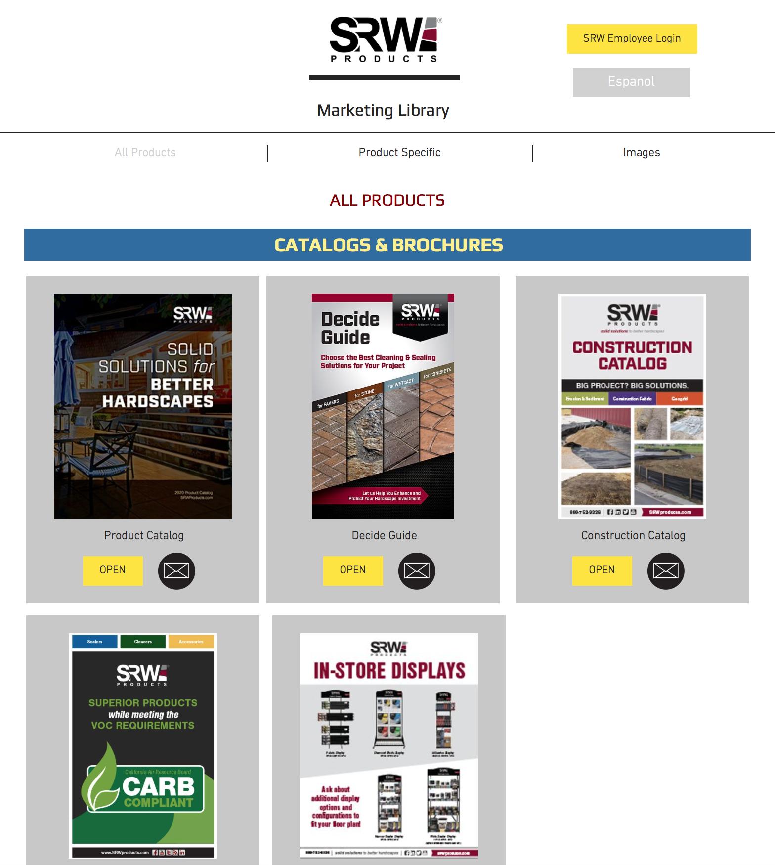 MarketingLibrary-HomePage